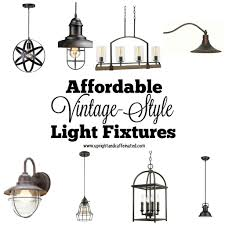 vintage style lighting fixtures. a complete list of affordable vintagestyle light fixtures found at the home depot vintage style lighting i