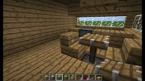 How to make a table in minecraft Views Youtube Minecraft Bitesizepopup Tables Chairs Youtube