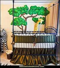baby jungle animal nursery theme