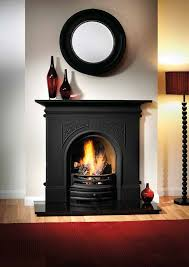 artisan sydenham black cast iron fireplace shelf 48