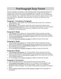 5 Paragraph Essay Examples Five Paragraph Essay Format And Transition Words Phrases By Tomk