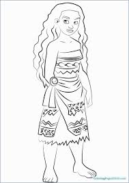 Baby Moana Coloring Book Admirably Coloring Pages Baby Moana Easy