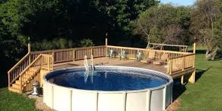 above ground pool and deck free diy plans the importance of decks images of above ground pool decks o78