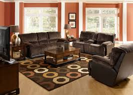 how to decorate living room with brown