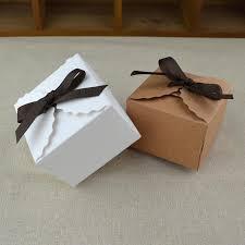 white kraft mini kraft paper box vine diy wedding favor gift box small single cake candy bo packaging with ribbon luxury gift wrap luxury gift