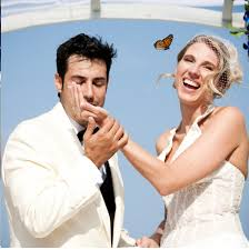 Resultado de imagen para butterfly release on a wedding ceremony