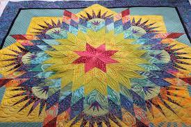 Piece N Quilt: Paper Pieced Star Quilt - Custom Machine Quilting ... & Paper Pieced Star Quilt - Custom Machine Quilting by Natalia Bonner Adamdwight.com