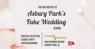 food ls dance party at the asbury park fake wedding expo