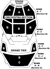 Potter Center Seating Diagram Jackson College