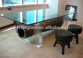 glass table top repair beveled tempered round dining rotating toughened kitchen amazing s certificate temp