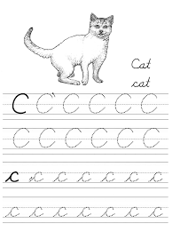 Learning the cursive alphabet is the best guide to cursive writing. Alphabet Coloring Tracers Cursive C