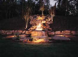 outdoor lighting effects. Waterfall Lighting By Outdoor Perspectives Of Memphis Effects I