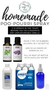 easy recipe for homemade diy poo pourri spray also makes a nice fragrant