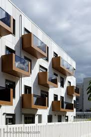 Modern Office Building Design Amazing Stylish Balconies Become Integral Parts Of Their Building's Facade