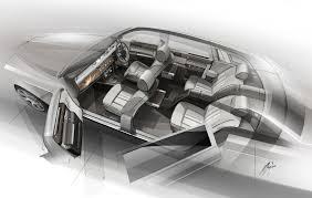 Bespoke Car Design Rolls Royce Bespoke Collection Interior Design Sketch