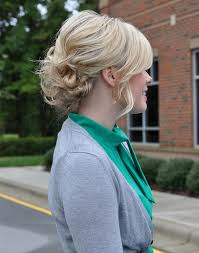 pretty simple updo tutorial the