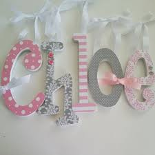 diy nursery decor wall art with wooden letters lullaby paints