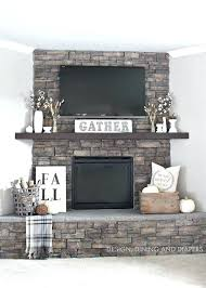 amazing best corner fireplace mantels ideas on rustic inside popular brick mantel decor for