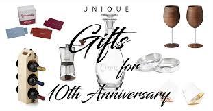 50 best 10 year anniversary gift ideas
