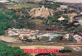 So far they've only got a couple pages finished, but awesome pictures. Take A Trip Back In Time With These Old Canada S Wonderland Postcards