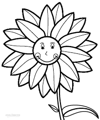Small Picture Printable Sunflower Coloring Pages For Kids Cool2bKids Part 708