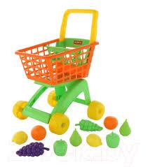 <b>Полесье №</b>7 с <b>набором</b> продуктов / 61911 (оранжевый ...