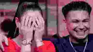 Jersey Shore Hook Up Chart Jwoww And Pauly D Relive Their Jersey Shore Hookup And That