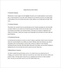 market analysis example financial analysis essay on business plan outline template 10 sample example format