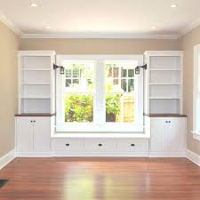 window seat w built ins for dining room home design decor