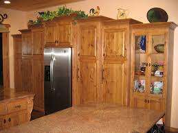 Pine Kitchen Cabinets For Cabinet Knotty Pine Kitchen Cabinet Door