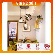 Đèn thả bàn ăn - Đèn thả - đèn trang trí hình học đa dạng - Tặng kèm bóng  LED cao cấp tại Hà Nội