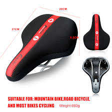 Chaunts Bicycle Saddle For Mtb Rode Bike Adjustable Inflatable