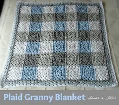 Best 25+ Baby boy crochet blanket ideas on Pinterest   Crochet boy ... & It's amazing what color can do. I love this. PLAID GRANNY BLANKET in Grey.  Baby Boy Crochet BlanketSize ... Adamdwight.com