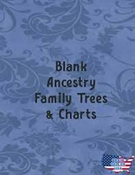 Free Ancestral Charts Details About Blank Ancestry Family Trees Charts Genealogy Charts Forms New Free Ship