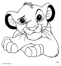 Small Picture Lion King Simba Coloring Pages GetColoringPagescom