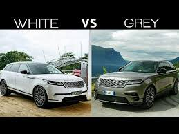 2018 land rover velar white. exellent velar range rover velar 2018 white vs grey colorbeautiful car throughout land rover velar white i