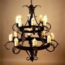 famous iron chandelier