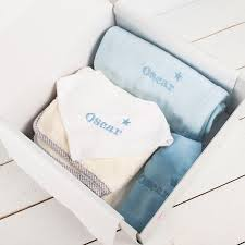 personalised baby gift box for boys gettingpersonal co uk