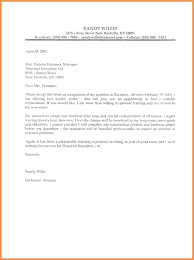 Heartfelt Resignation Letter Simple 48 Sample Of Letters Of Resignation