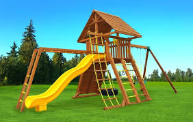 backyard playset installation playsets for sale swing set ideas