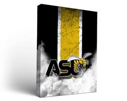 alabama state asu hornets canvas wall art vintage design 12x12  on alabama state wall art with alabama state asu hornets canvas wall art vintage design ebay