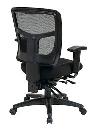 Office Chair With Adjustable Arms Amazoncom Office Star Mid Back Progrid Back Freeflex Seat With