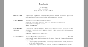 Resume Spacing Format Resume For Study