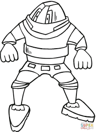 Small Picture Fighting Robot coloring page Free Printable Coloring Pages