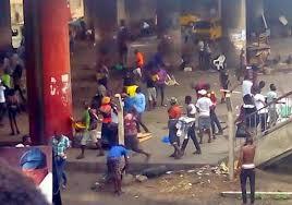 Image result for gang fight at oshodi