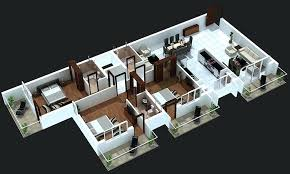 3 bedroom home plans three 3 bedroom apartment house plans architecture design 3 bedroom house plans