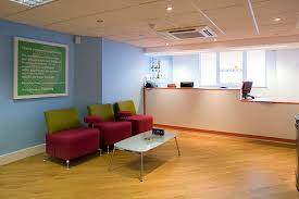 office reception area. Office Reception Layout Area