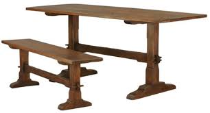 english oak pub table: classic old english oak pub table and bench dering hall