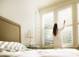 bedroom window blinds. Interesting Window Blinds Window Blinds In A Neutral Bedroom For Bedroom Blinds B