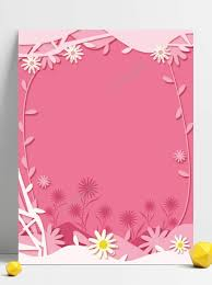 Design Paper Background Flower Pin On Album